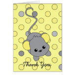 Little Yellow Ears Greeting Cards