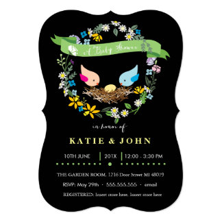 Little Yellow Egg  |  Neutral Baby Shower Personalized Invite