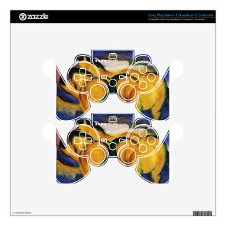 Little Yellow Horses by Franz Marc PS3 Controller Decals