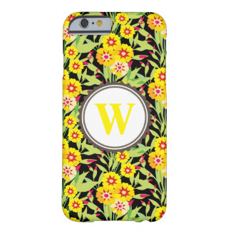 Little Yellow Sunflower Blooms Barely There iPhone 6 Case