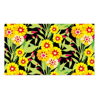 Little Yellow Sunflower Blooms Business Cards