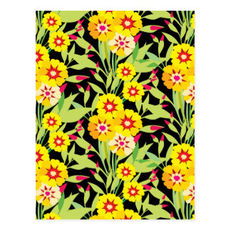 Little Yellow Sunflower Blooms Postcard