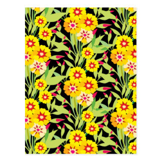 Little Yellow Sunflower Blooms Post Cards