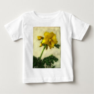 Little Yellow Wildflowers 1 Low-Key Baby T-Shirt