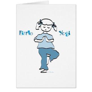 Yoga Girl card