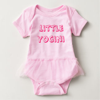 Little Yogini - Baby Yoga Clothes Baby Bodysuit