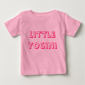 Little Yogini - Baby Yoga Clothes Baby T-Shirt