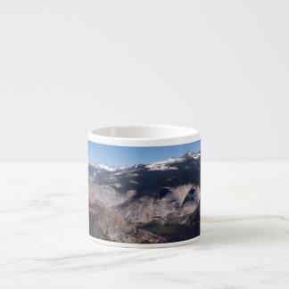 Little Yosemite from Half Dome Espresso Cup