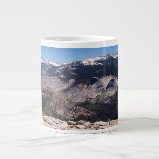 Little Yosemite from Half Dome Giant Coffee Mug