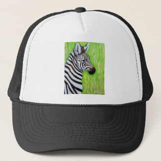 Little Zebra Trucker Hat