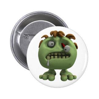 Little Zombie 2 Inch Round Button