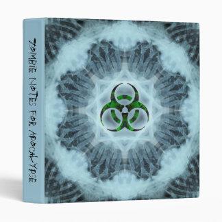 Little Zombie Kidz Biohazard Notebook 3 Ring Binder