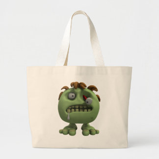 Little Zombie Large Tote Bag