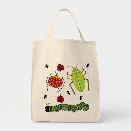 Littlebeane Bugs Insects  Ladybug Ant Caterpillar Bags