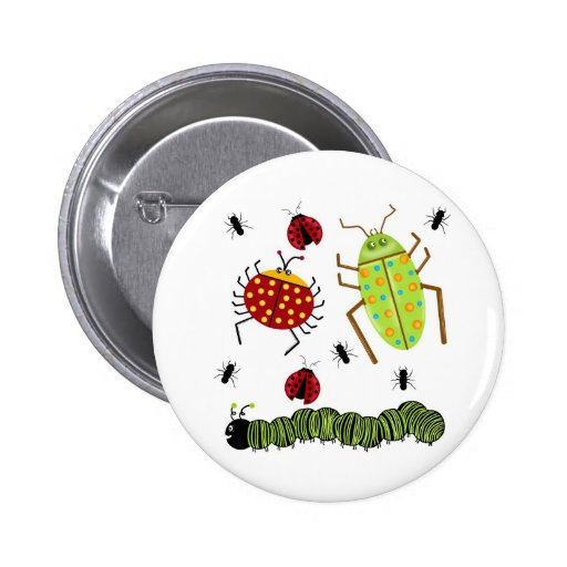 Littlebeane Bugs Insects  Ladybug Ant Caterpillar Pins