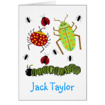 Littlebeane Bugs Insects  Ladybug Ant Caterpillar Cards