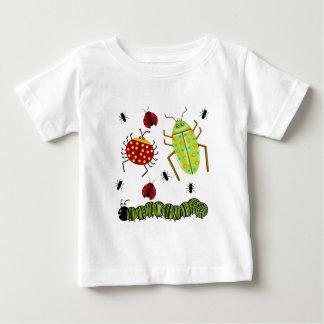 Littlebeane Bugs Insects  Ladybug Ant Caterpillar Infant T-shirt