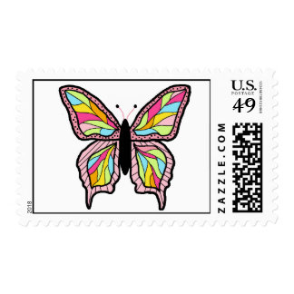 Littlebeane Butterfly Postage Stamps