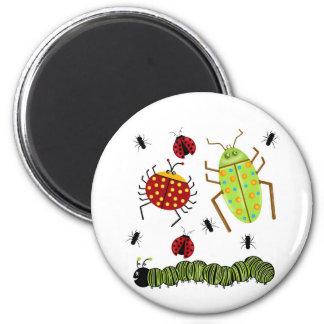 Littlebeane fastidia la hormiga Caterpillar de la  Imán Redondo 5 Cm