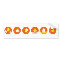 LittleChicken7 Bumper Sticker