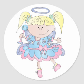 littlefairy sticker illustration