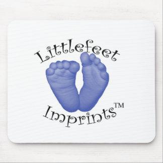 Littlefeet Imprints Mouse Pad
