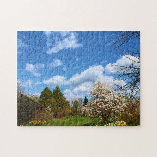 Littlefield Gardens in Orono, Maine Jigsaw Puzzle
