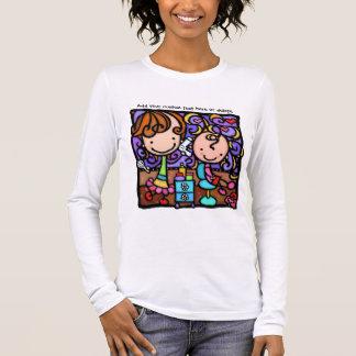 LittleGirlie is a happy stylist Long Sleeve T-Shirt