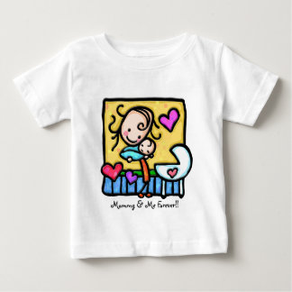 LittleGirlie loves her baby! Shirt