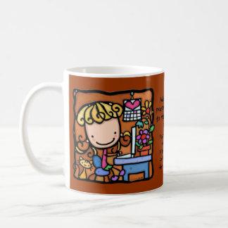 LittleGirlie loves to blog on her WARM BROWN Coffee Mug