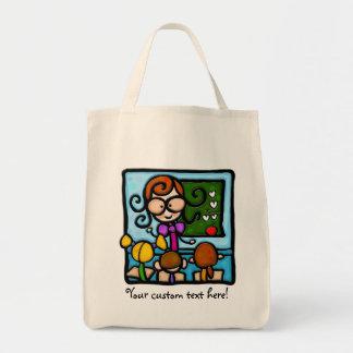 LittleGirlie plays teacher! Tote Bag