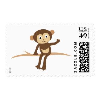 LittleMonkey10 Postage Stamps