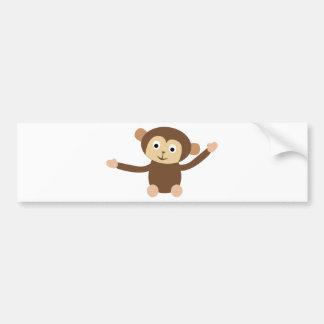 LittleMonkey13 Bumper Sticker