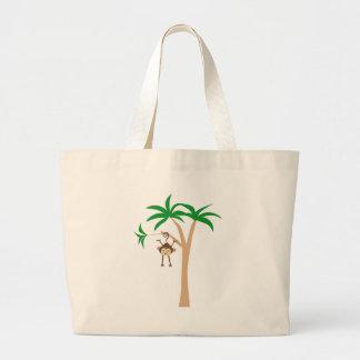 LittleMonkey3 Large Tote Bag