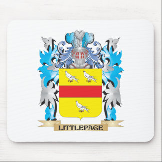 Littlepage Coat of Arms - Family Crest Mouse Pad