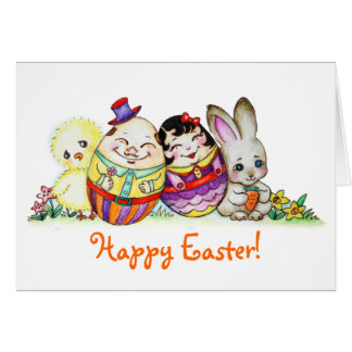 LittlePixyBoots - Happy Easter and Always Card