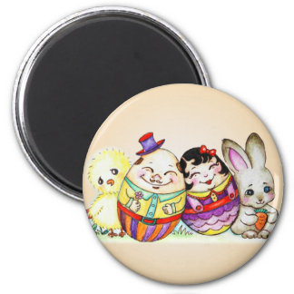 LittlePixyBoots - Happy Easter and Always Fridge Magnet