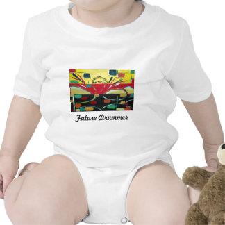 LittlePixyBoots - Tims Drums Tee Shirt