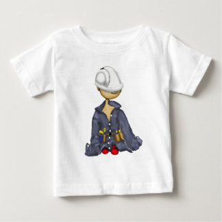 littlest construction worker baby T-Shirt