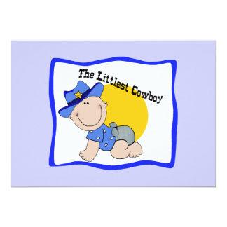 Littlest Cowboy Invitations - Personalize