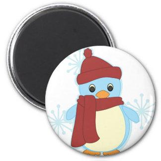 Littlest Penguin 2 Inch Round Magnet