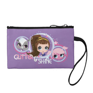 Littlest Pets: Glitter and Shine Coin Purse