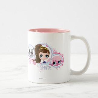 Littlest Pets: Glitter and Shine Two-Tone Coffee Mug