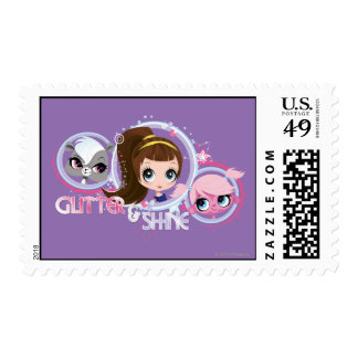 Littlest Pets Glitter and Shine Stamp