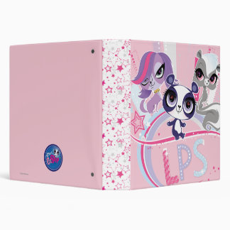 Littlest Pets in the Big City 1 3 Ring Binder