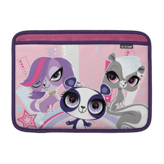Littlest Pets in the Big City 1 MacBook Sleeve