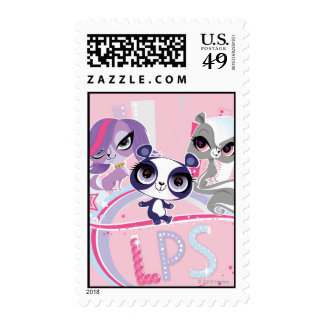 Littlest Pets in the Big City 1 Postage Stamps