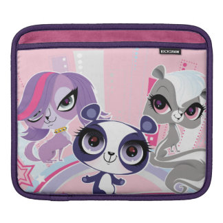 Littlest Pets in the Big City 1 Sleeve For iPads