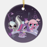 Littlest Pets in the Big City 2 Ceramic Ornament