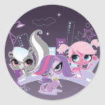 Littlest Pets in the Big City 2 Classic Round Sticker